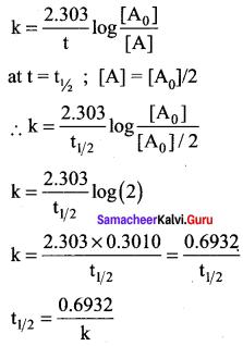 Samacheer Kalvi 12th Chemistry Solutions Chapter 7 Chemical Kinetics-29