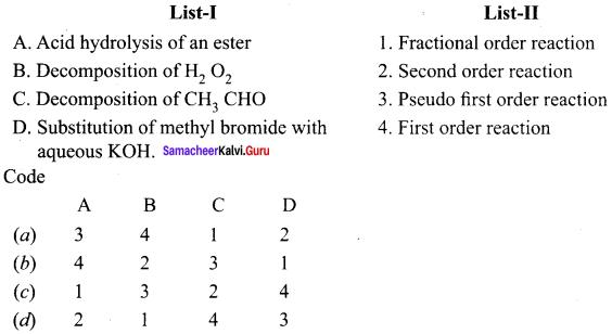 Samacheer Kalvi 12th Chemistry Solutions Chapter 7 Chemical Kinetics-60