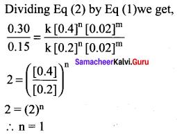 Samacheer Kalvi 12th Chemistry Solutions Chapter 7 Chemical Kinetics-40