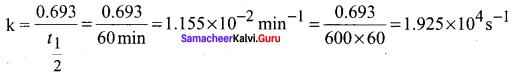 Samacheer Kalvi 12th Chemistry Solutions Chapter 7 Chemical Kinetics-66