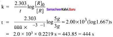 Samacheer Kalvi 12th Chemistry Solutions Chapter 7 Chemical Kinetics-71