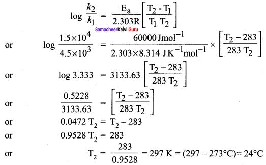 Samacheer Kalvi 12th Chemistry Solutions Chapter 7 Chemical Kinetics-85