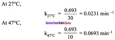 Samacheer Kalvi 12th Chemistry Solutions Chapter 7 Chemical Kinetics-91