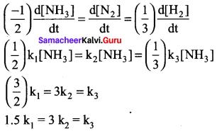 Chemical Kinetics Solutions Samacheer Kalvi 12th Chemistry Chapter 7