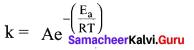 Samacheer Kalvi Class 12 Chemistry Solutions Chapter 7 Chemical Kinetics