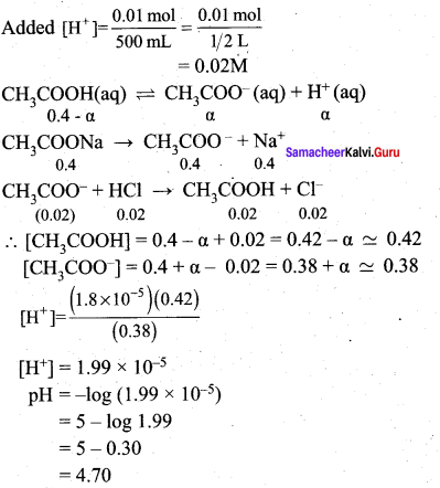 Samacheer Kalvi 12th Chemistry Solutions Chapter 8 Ionic Equilibrium-67