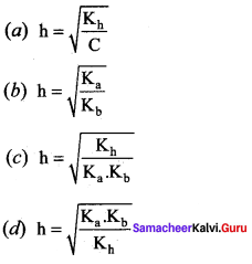 Samacheer Kalvi 12th Chemistry Solutions Chapter 8 Ionic Equilibrium-21
