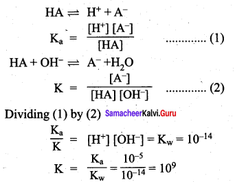 Samacheer Kalvi 12th Chemistry Solutions Chapter 8 Ionic Equilibrium-87