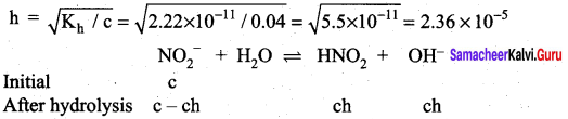 Samacheer Kalvi 12th Chemistry Solutions Chapter 8 Ionic Equilibrium-124