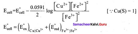 Samacheer Kalvi 12th Chemistry Solutions Chapter 9 Electro Chemistry-26