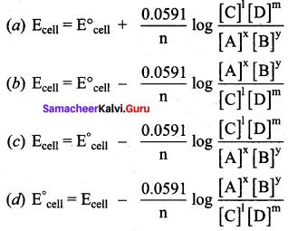 Samacheer Kalvi 12th Chemistry Solutions Chapter 9 Electro Chemistry-34