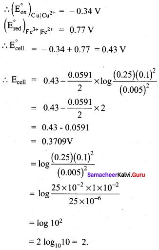Samacheer Kalvi 12th Chemistry Solutions Chapter 9 Electro Chemistry-64