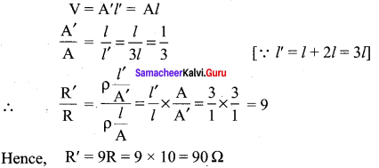 Samacheer Kalvi 12th Physics Solutions Chapter 2 Current Electricity-49