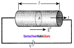 Samacheerkalvi.Guru 12th Physics Solutions Chapter 2 Current Electricity