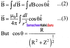 Samacheer Kalvi 12th Physics Solutions Chapter 3 Magnetism and Magnetic Effects of Electric Current-21