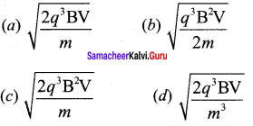 Samacheer Kalvi.Guru 12th Physics Solutions Chapter 3 Magnetism And Magnetic Effects Of Electric Current