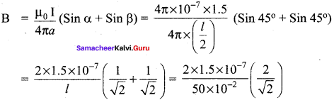 Samacheer Kalvi 12th Physics Solutions Chapter 3 Magnetism and Magnetic Effects of Electric Current-67