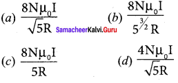 Samacheer Kalvi 12th Physics Solutions Chapter 3 Magnetism And Magnetic Effects Of Electric Current