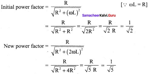 Samacheer Kalvi 12th Physics Solutions Chapter 4 Electromagnetic Induction and Alternating Current-101