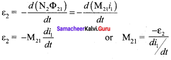Samacheer Kalvi 12th Physics Solutions Chapter 4 Electromagnetic Induction and Alternating Current-25