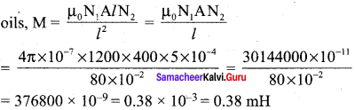 Samacheer Kalvi 12th Physics Solutions Chapter 4 Electromagnetic Induction and Alternating Current-60