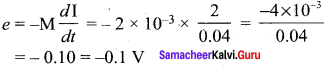Samacheer Kalvi 12th Physics Solutions Chapter 4 Electromagnetic Induction and Alternating Current-61-1