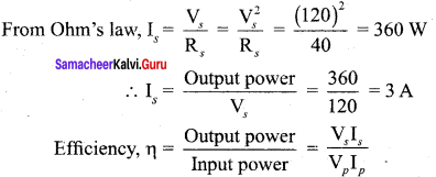 Samacheer Kalvi 12th Physics Solutions Chapter 4 Electromagnetic Induction and Alternating Current-64