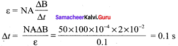 Samacheer Kalvi 12th Physics Solutions Chapter 4 Electromagnetic Induction and Alternating Current-77