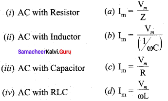 Samacheer Kalvi 12th Physics Solutions Chapter 4 Electromagnetic Induction and Alternating Current-82