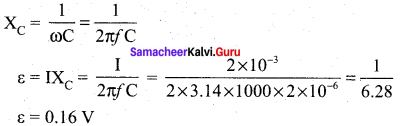 Samacheer Kalvi 12th Physics Solutions Chapter 4 Electromagnetic Induction and Alternating Current-97
