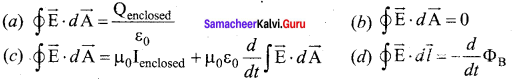 12th Physics Chapter 5 Book Back Answers Electromagnetic Waves Samacheer Kalvi