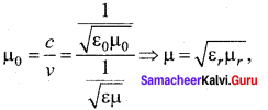 Samacheer Kalvi 12th Physics Solutions Chapter 5 Electromagnetic Waves
