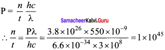 Samacheer Kalvi 12th Physics Solutions Chapter 7 Dual Nature of Radiation and Matter-13