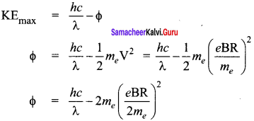 Samacheer Kalvi 12th Physics Solutions Chapter 7 Dual Nature of Radiation and Matter-19