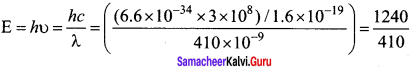 Samacheer Kalvi 12th Physics Solutions Chapter 7 Dual Nature of Radiation and Matter-20