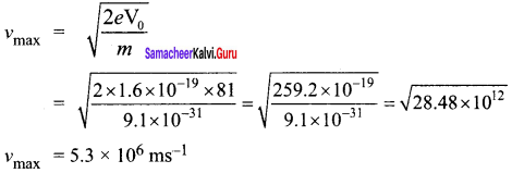 Samacheer Kalvi 12th Physics Solutions Chapter 7 Dual Nature of Radiation and Matter-37