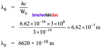 Samacheer Kalvi 12th Physics Solutions Chapter 7 Dual Nature of Radiation and Matter-44