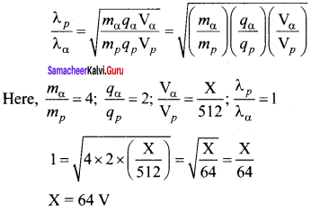 Samacheer Kalvi 12th Physics Solutions Chapter 7 Dual Nature of Radiation and Matter-48