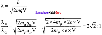Samacheer Kalvi 12th Physics Solutions Chapter 7 Dual Nature of Radiation and Matter-50