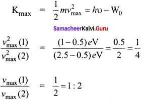 Samacheer Kalvi 12th Physics Solutions Chapter 7 Dual Nature of Radiation and Matter-56