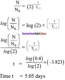 Samacheer Kalvi 12th Physics Solutions Chapter 8 Atomic and Nuclear Physics-33