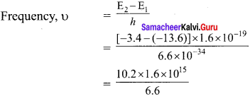 Samacheer Kalvi 12th Physics Solutions Chapter 8 Atomic and Nuclear Physics-42