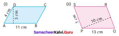 Samacheer Kalvi 7th Maths Solutions Term 1 Chapter 2 Measurements Ex 2.1 1