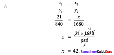 Samacheer Kalvi 7th Maths Solutions Term 1 Chapter 4 Direct and Inverse Proportion Ex 4.1 523