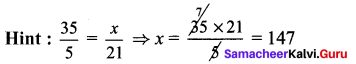 Samacheer Kalvi 7th Maths Solutions Term 1 Chapter 4 Direct and Inverse Proportion Ex 4.1 526