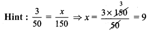 Samacheer Kalvi 7th Maths Solutions Term 1 Chapter 4 Direct and Inverse Proportion Ex 4.1 527