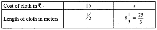 Samacheer Kalvi 7th Maths Solutions Term 1 Chapter 4 Direct and Inverse Proportion Ex 4.1 60