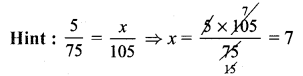 Samacheer Kalvi 7th Maths Solutions Term 1 Chapter 4 Direct and Inverse Proportion Ex 4.1 78
