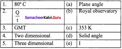 Measurement Book Back Answer Samacheer Kalvi Term 1 Chapter 1