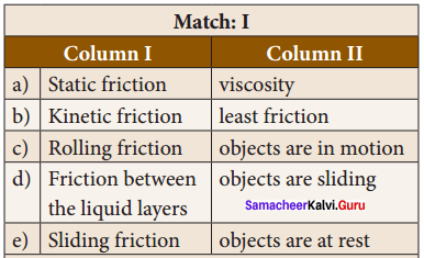 Define One Atmosphere Class 8 Samacheer Kalvi Term 1 Chapter 2 Forces And Pressure